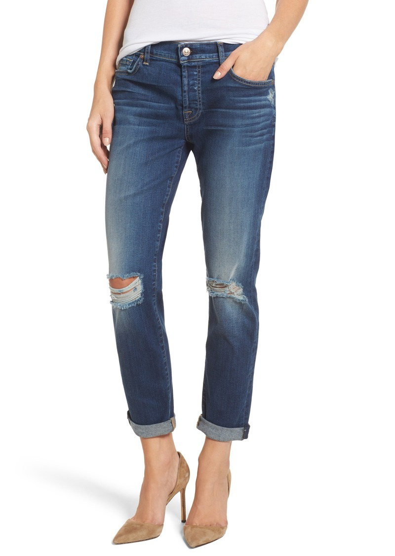 4d5ff40bc17 7 For All Mankind 7 For All Mankind® Josefina Destroyed Boyfriend ...