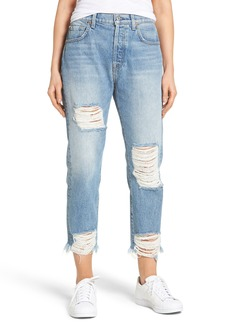 7 For All Mankind® Josefina Destroyed Boyfriend Jeans (Vintage Wythe)