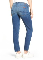 7 For All Mankind® Josefina Distressed Boyfriend Jeans (Barrier Reef Broken Twill 2)