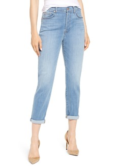7 For All Mankind® Josefina High Waist Crop Boyfriend Jeans (Cosmopolitan)