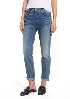 7 For All Mankind® Josefina High Waist Crop Boyfriend Jeans (Wall Street Heritage)