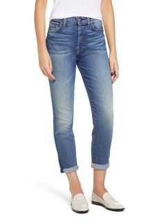 7 For All Mankind® Josefina High Waist Roll Hem Boyfriend Jeans (Luxe Vintage Femme)