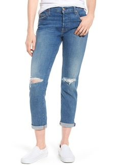 7 For All Mankind® Josefina Ripped Boyfriend Jeans (Heritage Artwalk 2)