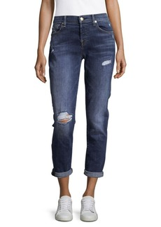 7 For All Mankind Josefina Roll-Up Jeans