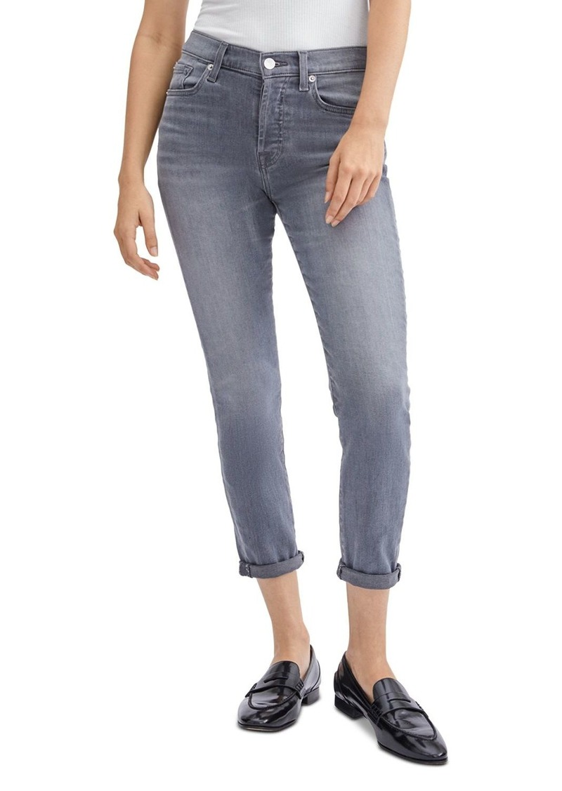 7 For All Mankind Josefina Skinny Ankle Jeans in Cherg No