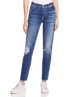 7 For All Mankind Josefina Skinny Boyfriend Jeans in Abbey Road