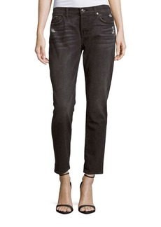 7 For All Mankind Josefina Straight-Leg Jeans