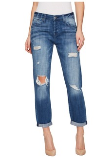 7 For All Mankind Josefina w/ Destroy - Squiggle in Boyd Blue 2