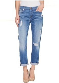 7 For All Mankind Josefina w/ Destroy in Adelaide Bright Blue