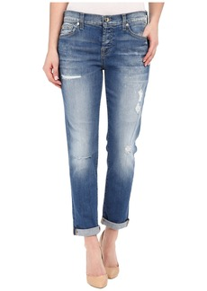 7 For All Mankind Josefina w/ Destroy in Bright Bluebell