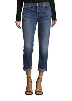 7 For All Mankind Josefina With Rolled Hem Five-Pocket Jeans
