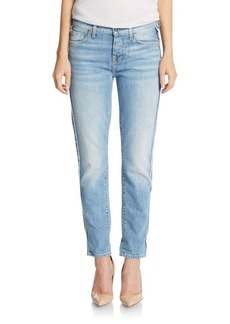 7 For All Mankind Josephina Raw-Edge Boyfriend Jeans