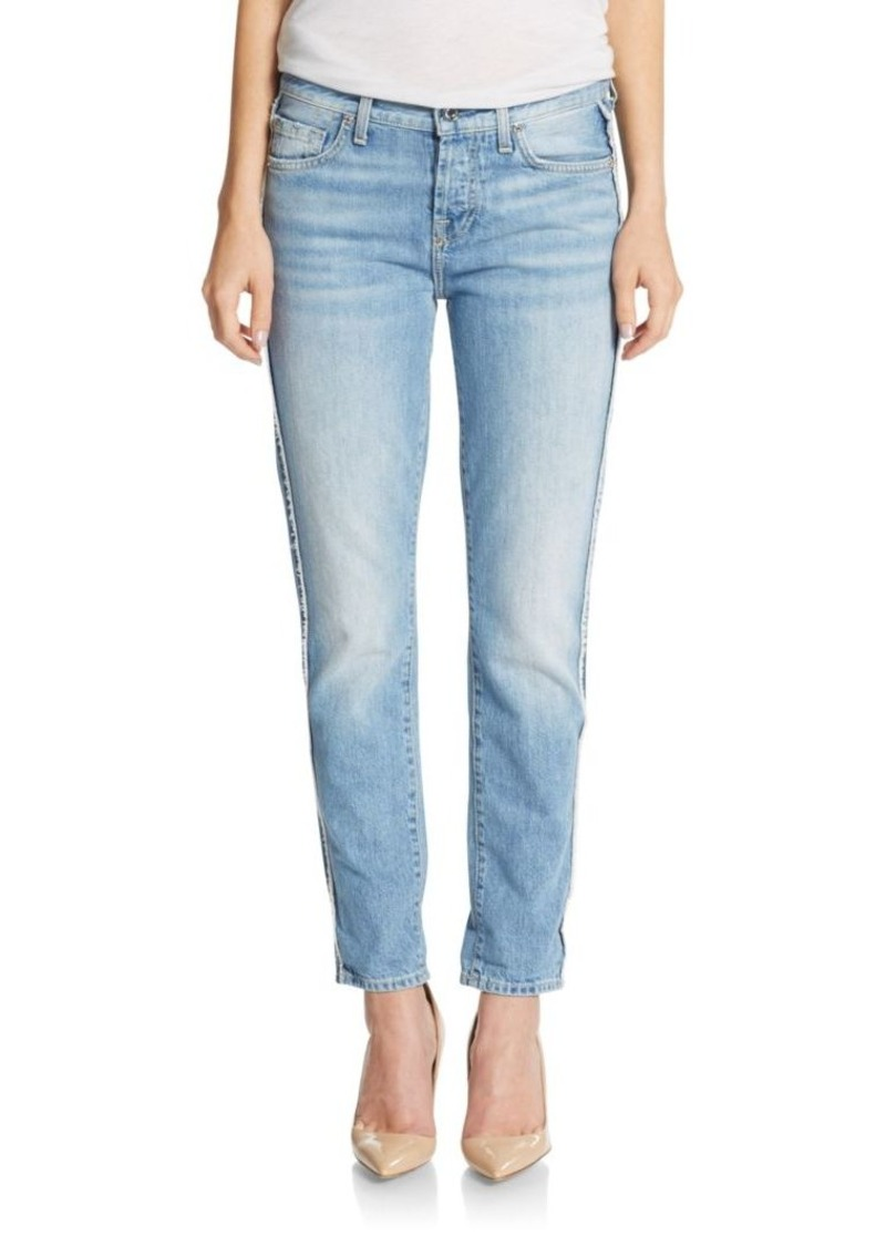 7 For All Mankind Josephina Raw-Edge Boyfriend Jeans