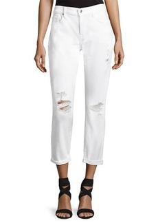 7 For All Mankind Josephina Skinny Jeans W/ Destroy