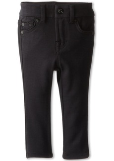 7 For All Mankind Skinny Jean in Black Ponte Knit (Infant)