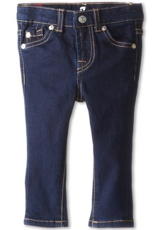 7 For All Mankind Skinny Jean in Rinsed Indigo (Infant)