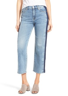 7 For All Mankind® Kiki High Waist Crop Wide Leg Jeans (Gold Coast Waves)