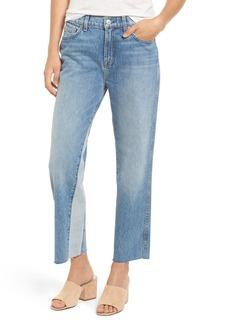 7 For All Mankind® Kiki High Waist Crop Wide Leg Jeans (Vintage Wythe)