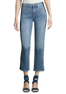 7 For All Mankind Kiki W/ Shadow Side Seam Wide-Leg Jeans