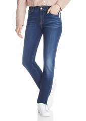 7 For All Mankind Kimmi Straight Jeans in New Luxe Duchess