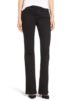 7 For All Mankind® 'Kimmie' Bootcut Jeans (Washed Overdyed Black)