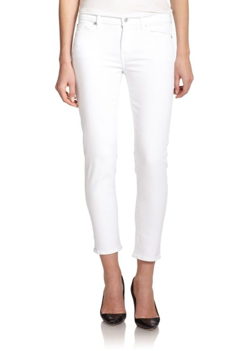 7 For All Mankind Kimmie Cropped Jeans