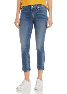7 For All Mankind Kimmie Cropped Jeans in b(air) Amazing Heritage