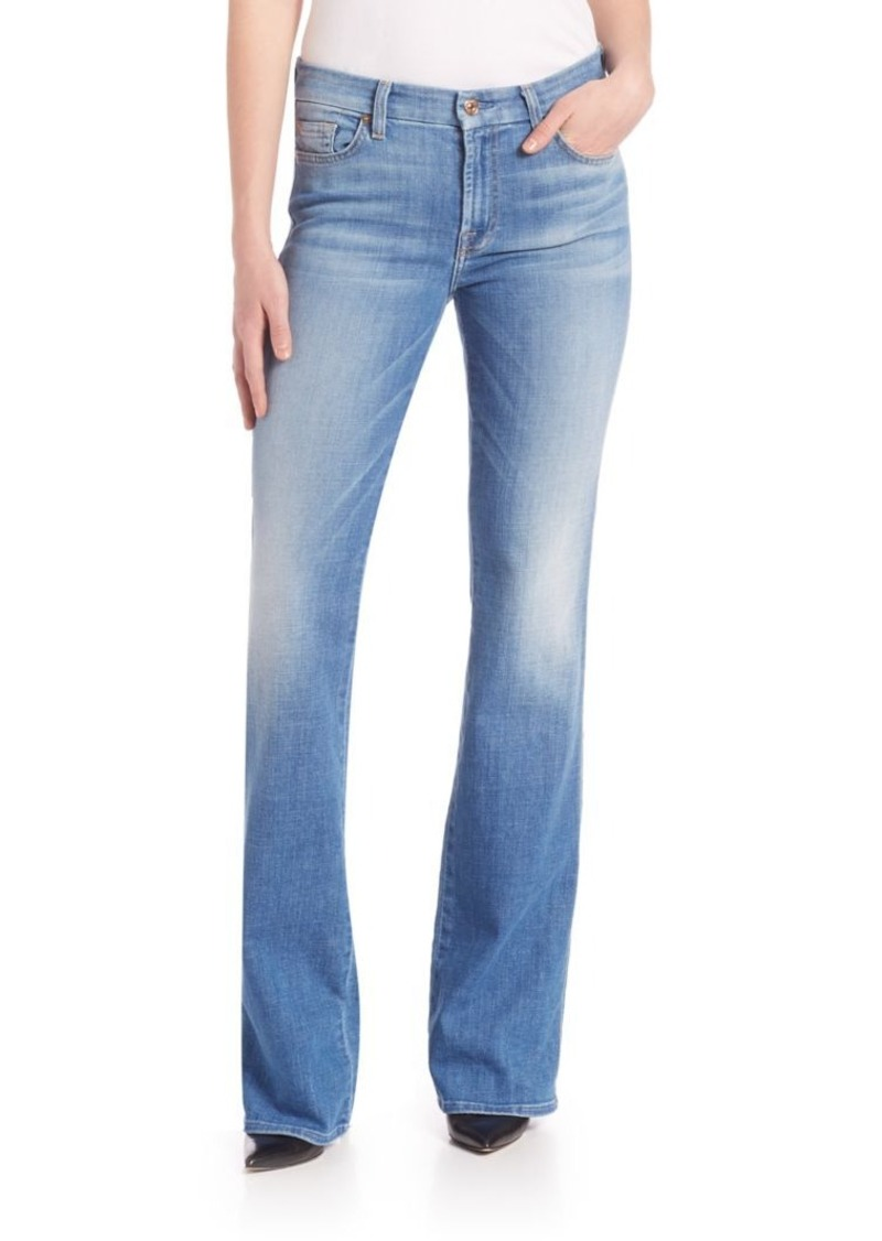 7 For All Mankind 7 For All Mankind Kimmie Light-Wash Bootcut