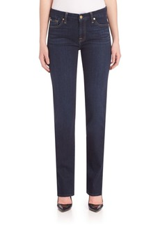 7 For All Mankind Kimmie Straight-Fit Jeans