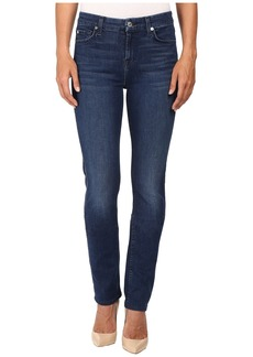 7 For All Mankind Kimmie Straight in Slim Illusion Luxe Luminous