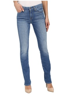 7 For All Mankind Kimmie Straight in Vivid Authentic Blue