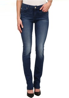 7 For All Mankind Kimmie Straight Leg in Slim Illusion Luxe Medium Heritage