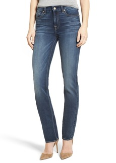 7 For All Mankind® Kimmie Straight Leg Jeans (Iron Cove)