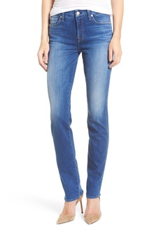 7 For All Mankind® Kimmie Straight Leg Jeans (New Castle Broken Twill)