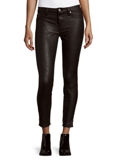 7 For All Mankind Knee Seam Skinny Jeans
