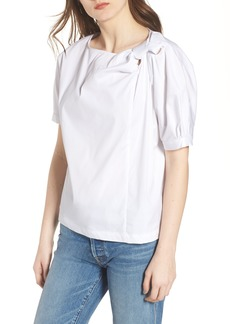 7 For All Mankind® Knot Neck Top