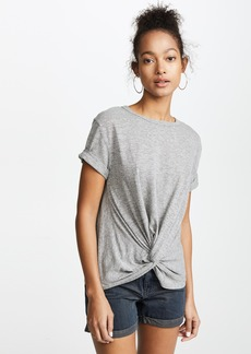 7 For All Mankind Knotted Front Tee