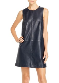7 For All Mankind Leather Mini Dress