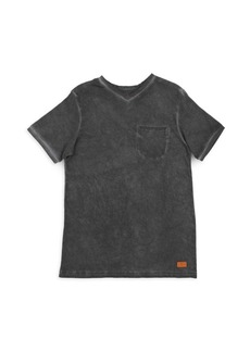 7 For All Mankind Little Boy's & Boy's V-Neck Tee