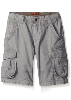7 For All Mankind Little Boys 7 Pocket Twill Carson Cargo Short Grey