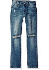 7 For All Mankind Little Boys'  Pocket Paxtyn Ripped Skinny Jean