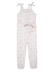 7 For All Mankind Little Girl's & Girl's Floral Tie Romper