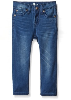 7 For All Mankind Little Girls The Skinny 5 Pocket Stretch Denim Jean