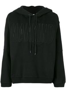 7 For All Mankind logo hoodie - Black