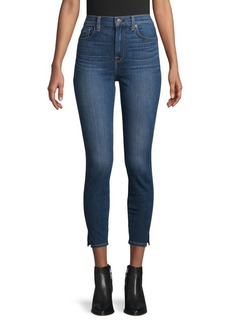 7 For All Mankind Logo Skinny Jeans