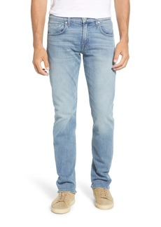 7 For All Mankind® Luxe Performance Slim Straight Leg Jeans (Washed Out)