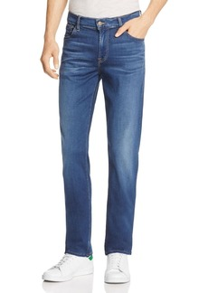 7 For All Mankind Luxe Sport Slimmy Slim Fit Jeans in Neptune Blue