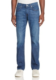 7 For All Mankind Mariner Straight Fit Jeans in Medium Blue