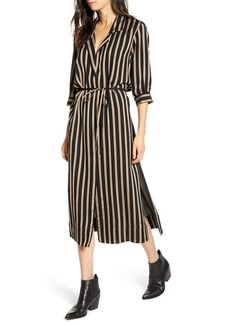 7 For All Mankind Maxi Shirtdress