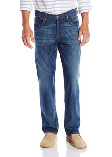 7 For All Mankind Men's Austyn Relaxed Straight Leg Jean In Vincent Street